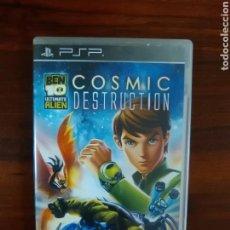Videojuegos y Consolas: BEN 10 - ULTIMATE ALIEN - COSMIC DESTRUCTION - SONY PSP - COMPLETO. Lote 77259929