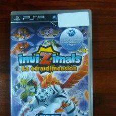 Videojuegos y Consolas: INVIZIMALS - LA OTRA DIMENSIÓN - SONY PSP - UMD. Lote 103393719