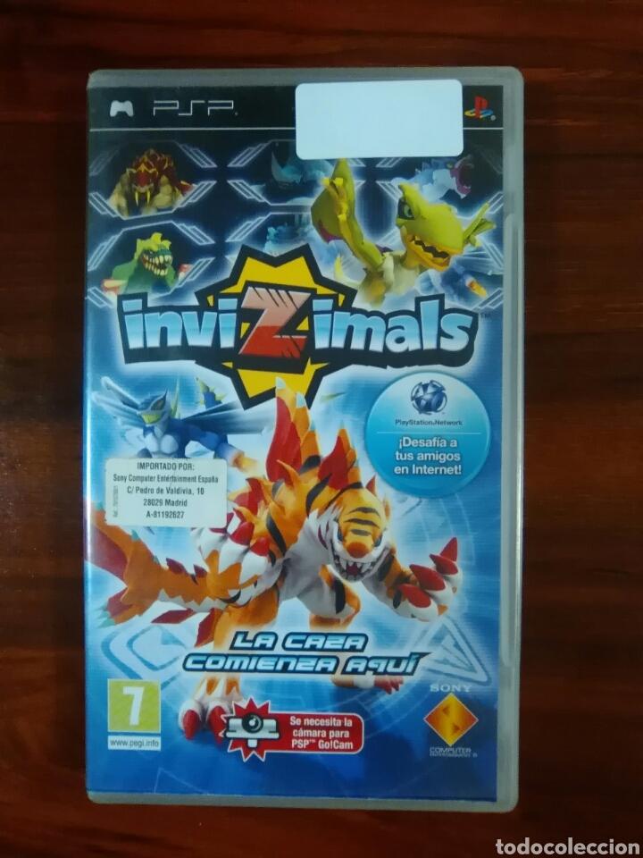 INVIZIMALS - SONY PSP - UMD - GO CAM (Juguetes - Videojuegos y Consolas - Sony - Psp)
