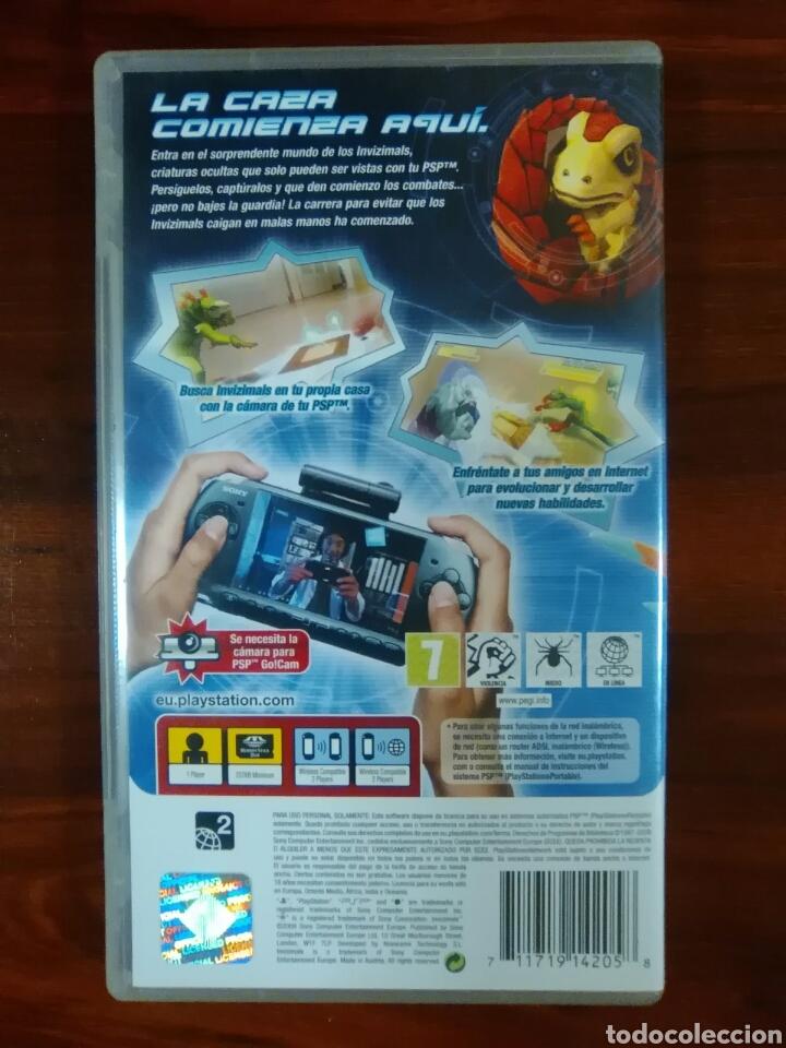 Videojuegos y Consolas: INVIZIMALS - SONY PSP - UMD - GO CAM - Foto 2 - 103486943