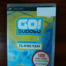 Videojuegos y Consolas: GO! SUDOKU - SONY PSP - UMD - COMPLETO - PUZZLES. Lote 103569239
