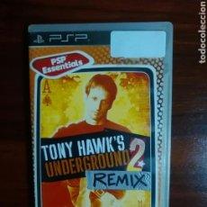 Videojuegos y Consolas: TONY HAWK'S UNDERGROUND 2 REMIX - SONY PSP - UMD - SKATE. Lote 103570639