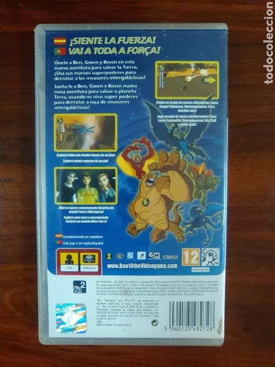 Videojuegos y Consolas: BEN 10 ALIEN FORCE - SONY PSP - UMD - COMPLETO - BUEN ESTADO - Foto 2 - 103371767
