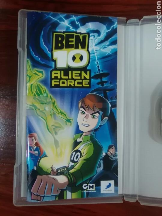 Videojuegos y Consolas: BEN 10 ALIEN FORCE - SONY PSP - UMD - COMPLETO - BUEN ESTADO - Foto 3 - 103371767