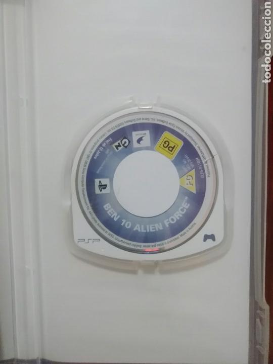Videojuegos y Consolas: BEN 10 ALIEN FORCE - SONY PSP - UMD - COMPLETO - BUEN ESTADO - Foto 4 - 103371767
