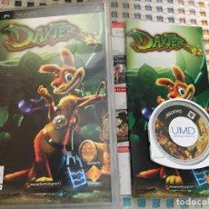 Videojuegos y Consolas: DAXTER PSP UMD JUEGO KREATEN. Lote 126152247