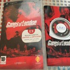 Videojuegos y Consolas: GANS OF LONDON PSP UMD JUEGO KREATEN. Lote 126154415