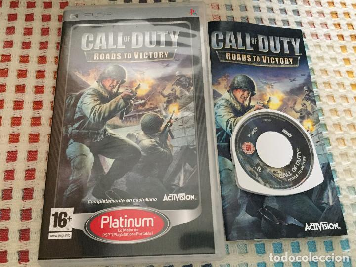 Call Of Duty Roads To Victory Psp Umd Juego Kre Buy Video Games And Consoles Psp At Todocoleccion 126154859