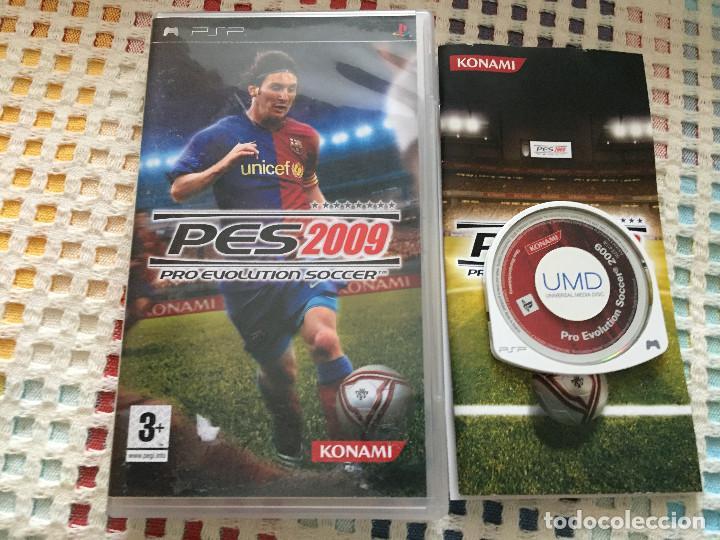 PRO EVOLUTION SOCCER 2009 PES MESSI MESI BARCELONA KONAMI - SONY PSP UMD JUEGO KREATEN (Juguetes - Videojuegos y Consolas - Sony - Psp)
