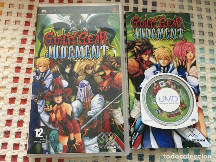 GUILTY GEAR JUDGMENT JUDGEMENT - SONY PSP UMD JUEGO KREATEN (Juguetes - Videojuegos y Consolas - Sony - Psp)