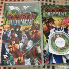 Jeux Vidéo et Consoles: GUILTY GEAR JUDGMENT JUDGEMENT - SONY PSP UMD JUEGO KREATEN. Lote 186351903
