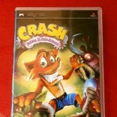 Videojuegos y Consolas: CRASH GUERRA AL COCO-MANIACO - JUEGO PLAYSTATION PSP (PAL) (BUEN ESTADO) JUEGO PLATAFORMAS. Lote 128183523