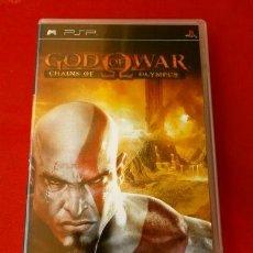 Videojuegos y Consolas: GOD OF WAR - CHAINS OF OLYMPUS - JUEGO PLAYSTATION PSP (PAL) (BUEN ESTADO) . Lote 128183927