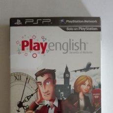 Videojuegos y Consolas: PLAY ENGLISH DESVELA EL MISTERIO PARA PSP NUEVO PRECINTADO. Lote 128467799
