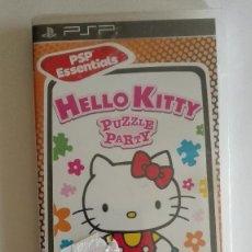 Videojuegos y Consolas: HELLO KITTY PUZZLE PARTY PARA PSP NUEVO PRECINTADO. Lote 128467915