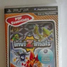 Videojuegos y Consolas: INVIZIMALS LA CAZA COMIENZA AQUI PARA PSP NUEVO PRECINTADO. Lote 128468283