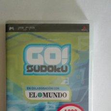 Videojuegos y Consolas: SUDOKU PARA PSP NUEVO PRECINTADO. Lote 128468403