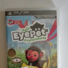 Videojuegos y Consolas: EYEPET EXPLORADORES PARA PSP NUEVO PRECINTADO. Lote 128468491
