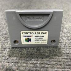 Videojuegos y Consolas: CONTROLLER PAK GRIS NINTENDO 64. Lote 128502635