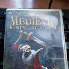 Videojuegos y Consolas: MEDIEVIL RESURRECCION 1EDICION. Lote 128807886