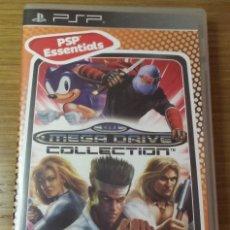 Videojuegos y Consolas: SEGA MEGA DRIVE COLLECTION SONY PSP. Lote 129052467