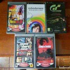 Videojuegos y Consolas: JUEGOS PSP PLAYSTATION. Lote 130617510