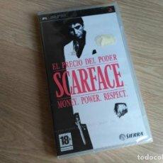 Videojuegos y Consolas: SONY PSP JUEGO EL PRECIO DEL PODER SCARFACE NUEVO. Lote 131747166