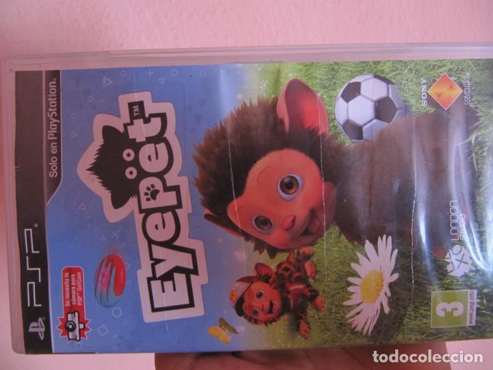 EYEPET (Juguetes - Videojuegos y Consolas - Sony - Psp)