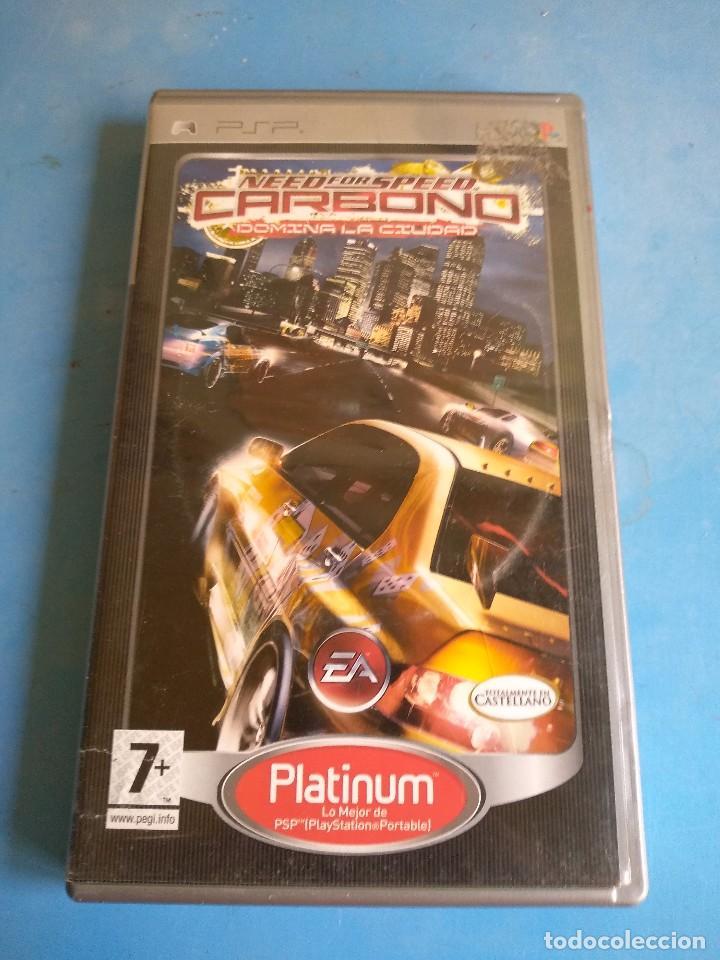 PSP- NEED FORO SPEED CARBONO AÑO 2006 (Juguetes - Videojuegos y Consolas - Sony - Psp)