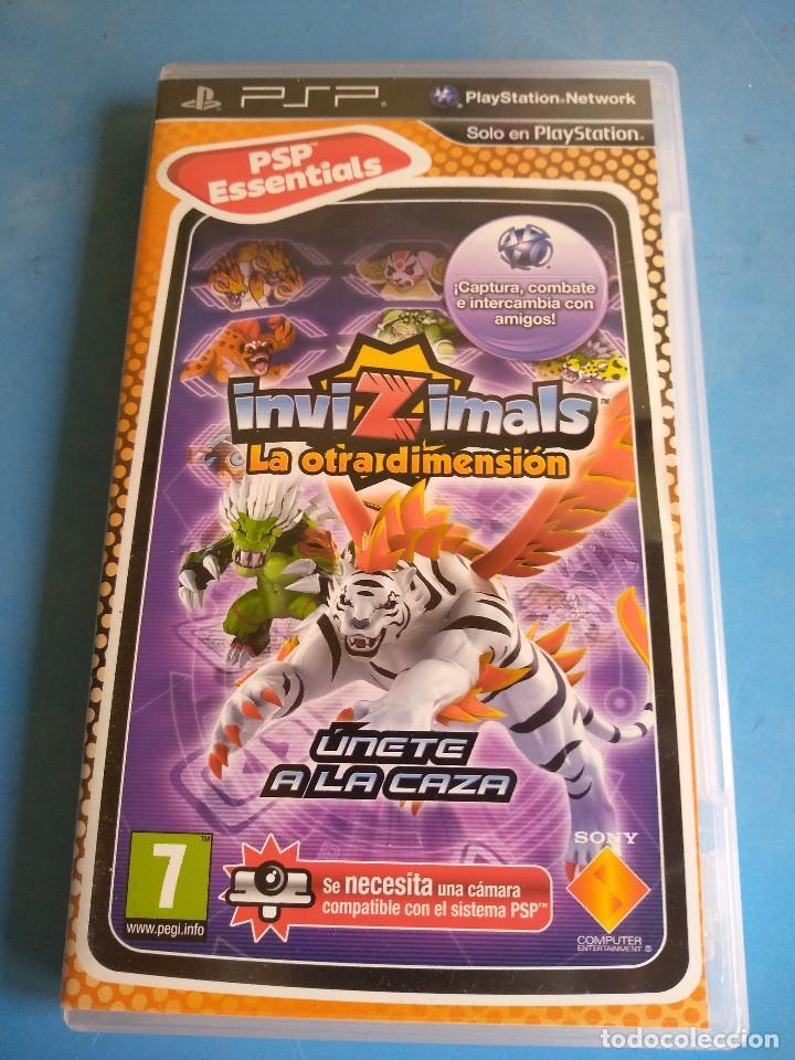 PSP- INVIZIMALS ,LA OTRA DIMENSIÓN AÑO 2012 (Juguetes - Videojuegos y Consolas - Sony - Psp)