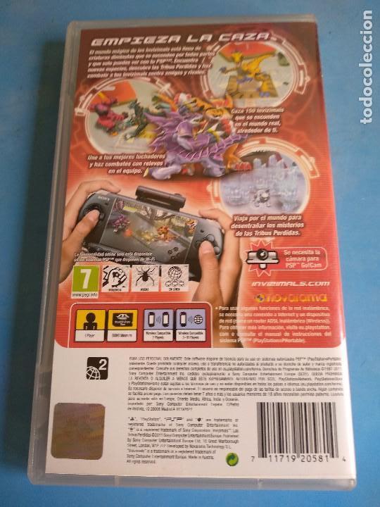 Videojuegos y Consolas: PSP- Invizimals,las tribus perdidas , año 2011 - Foto 4 - 132486998