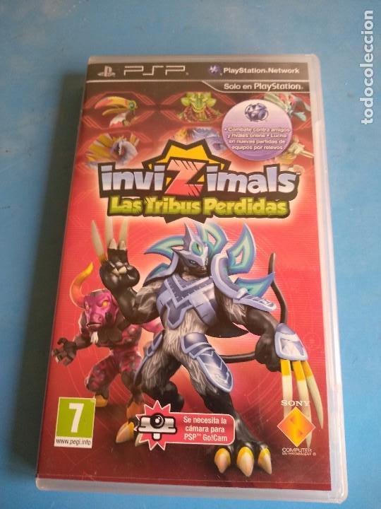 PSP- INVIZIMALS,LAS TRIBUS PERDIDAS , AÑO 2011 (Juguetes - Videojuegos y Consolas - Sony - Psp)