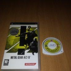 Videojuegos y Consolas: METAL GEAR ACID 2 PSP PAL ES.. Lote 133770718