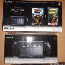 Videojuegos y Consolas: CONSOLA PSP + 12 JUEGOS+ MALETIN. Lote 133950291
