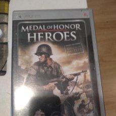 Videojuegos y Consolas: JUEGO SONY PSP PORTABLE MEDAL OF HONOR HEROES. Lote 134131254