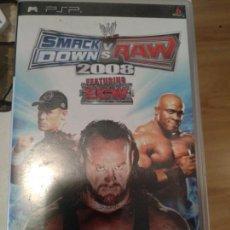 Videojuegos y Consolas: PSP SMACK DOWN VS RAW 2008.. Lote 134131298
