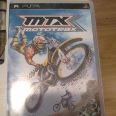 Videojuegos y Consolas: MOTOTRAX MSX PSP. Lote 134131414