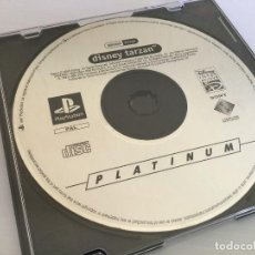 Videojuegos y Consolas: JUEGO PARA PLAYSTATION DISNEY TARZAN – PLATINUM – AÑO 2000. Lote 136367178