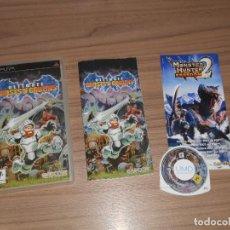 Videojuegos y Consolas: ULTIMATE GHOSTS'N GOBLINS COMPLETO SONY PSP PAL ESPAÑA CASTELLANO. Lote 136730724