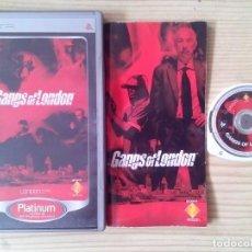 Videojuegos y Consolas: GANGS OF LONDON - PSP COMPLETO. Lote 137433842