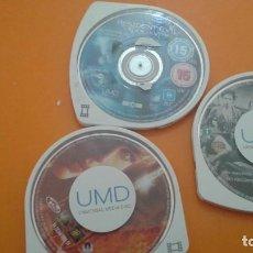 Videojuegos y Consolas: 3 PELICULAS UMD PSP. Lote 138805690