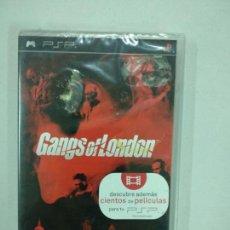 Videojuegos y Consolas: GANGS OF LONDON - NUEVO - PSP - PLAYSTATION PORTABLE PLAY STATION PAL ESP. Lote 139403478