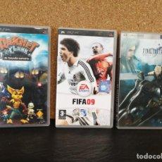 Videojuegos y Consolas: LOTE PSP FINAL FANTASY VII UMD. Lote 139583914