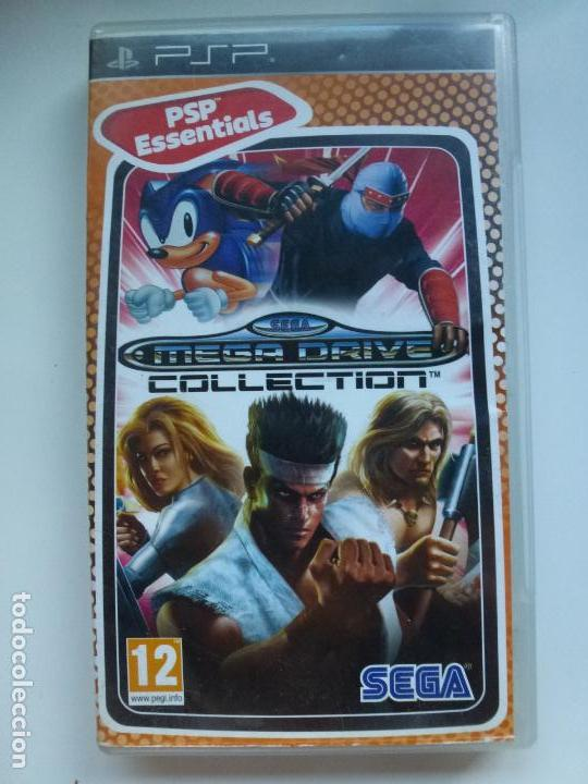 Psp Essentials Sega Mega Drive Collection 27 J Buy Video Games