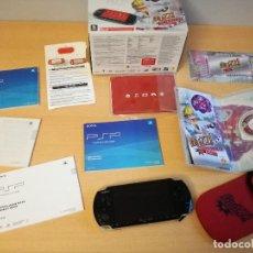 Videojuegos y Consolas: CONSOLA SONY PSP BUZZ, SLIM&LITE, NO FUNCIONA, TIENE TODOS LOS ACCESORIOS MUY NUEVOS. LEER . Lote 142601430