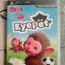 Videojuegos y Consolas: JUEGO EYEPET. PSP. Lote 142747460