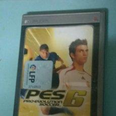Videojuegos y Consolas: PRO EVOLUTION SOCCER 6. PSP. Lote 144238284