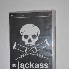 Videojuegos y Consolas: JUEGO SONY PLAYSTATION PSP JACKASS THE GAME 2007 REDMILE ENTERTAINMENT ACCIÓN ESPAÑOL ITALIANO. Lote 144614886