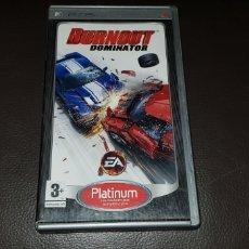 Videojuegos y Consolas: PSP UMD BURNOUT DOMINATOR. Lote 145715469