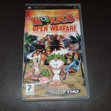 Videojuegos y Consolas: JUEGO PSP WORNS OPEN WAREFIRE. Lote 145715630